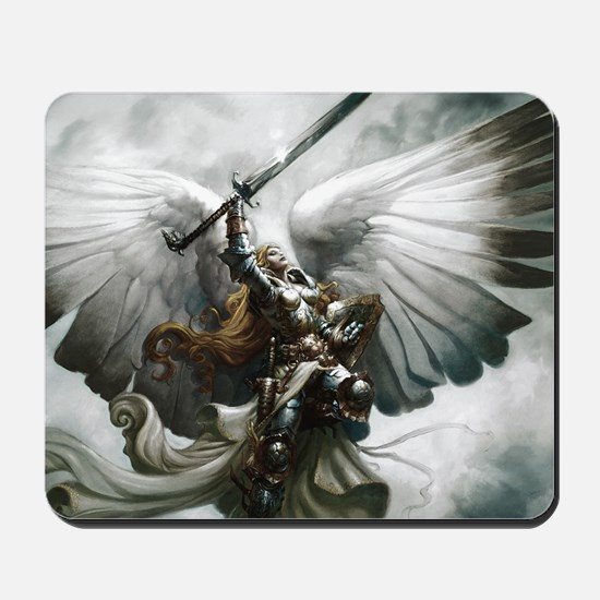Angel Knight Mousepad