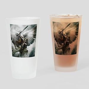 Angel Knight Drinking Glass