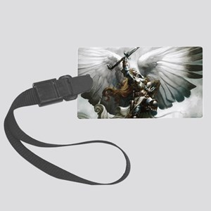 Angel Knight Large Luggage Tag