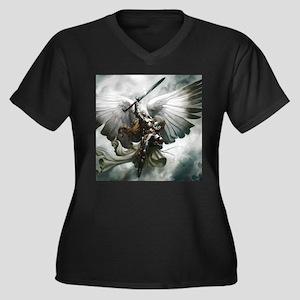 Angel Knight Plus Size T-Shirt