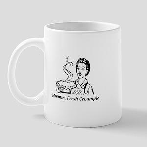 Mmmm, Fresh Creampie! Mug