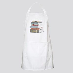Who Dares To Teach BBQ Apron