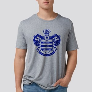 Queens Park Rangers Crest Mens Tri-blend T-Shirt