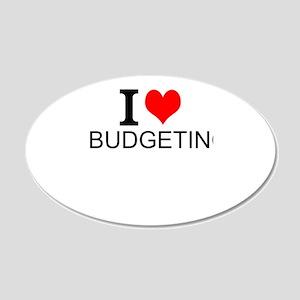 I Love Budgeting Wall Decal