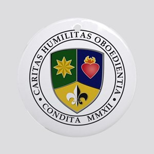 Coat of Arms Ornament (Round)