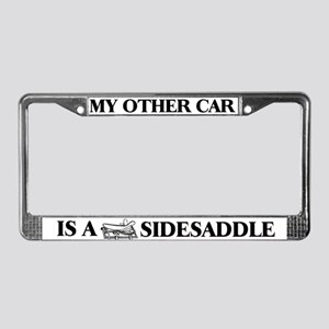 """My Other Car is a Sidesaddle"" License P"