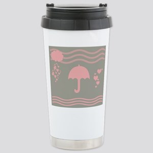 Hearts Rain 16 Oz Stainless Steel Travel Mug Mugs