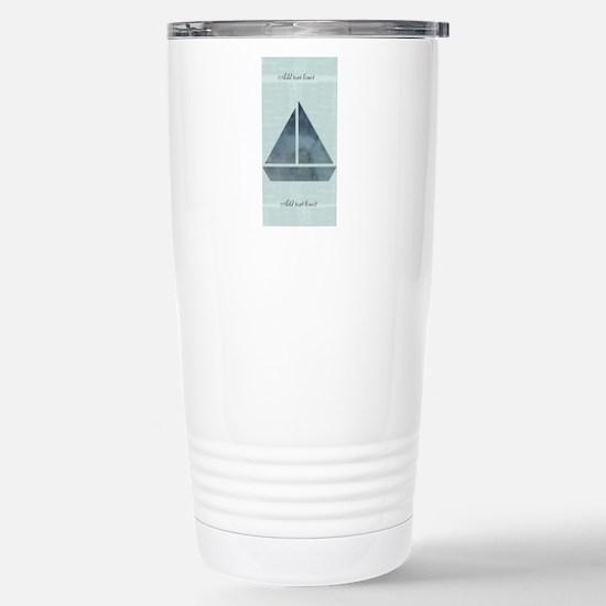 Custom Add Text Sailing Stainless Steel Mugs