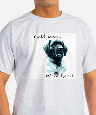 Leonberger Warm Heart Ash Grey T-Shirt
