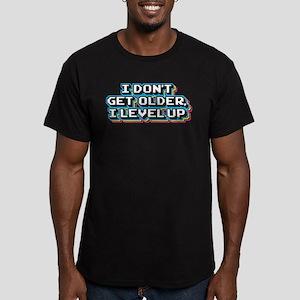 I Don't Get Older I Le Men's Fitted T-Shirt (dark)