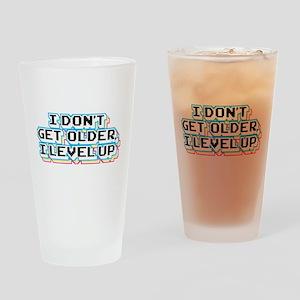 I Don't Get Older I Level Up Drinking Glass