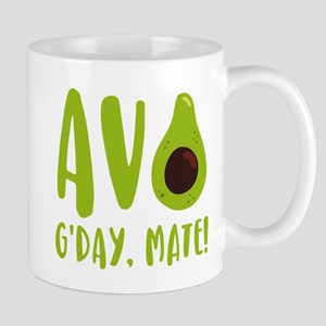 Avocado G'Day Mate 11 oz Ceramic Mug