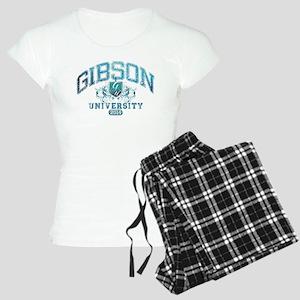 Gibson Last Name University Class of 2014 Pajamas