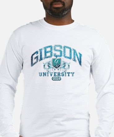 Gibson Last Name University Class of 2014 Long Sle