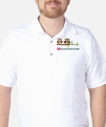 Owl 30th Anniversary Golf Shirt