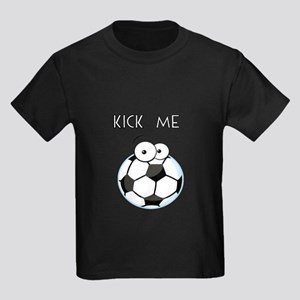 Cartoon Soccer Ball-kick me T-Shirt