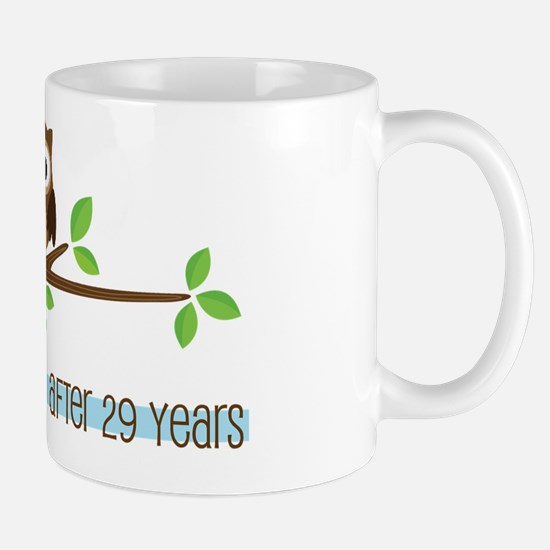 Owl 29th Anniversary Mug