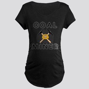 Coal Miners Maternity Dark T-Shirt