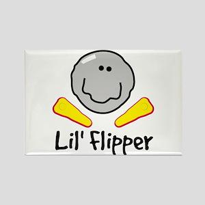 Lil' Flipper Rectangle Magnet