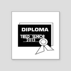 Graduation Diploma 2013 Sticker