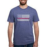 BCA Flag Mens Tri-blend T-Shirt