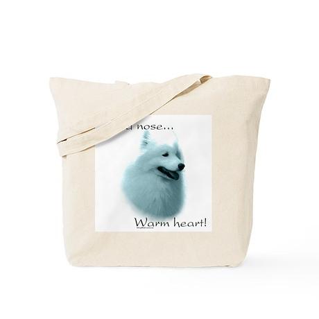 Samoyed Warm Heart Tote Bag