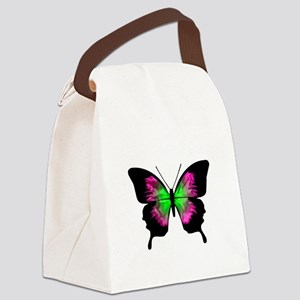 Butterfly Maternity Canvas Lunch Bag