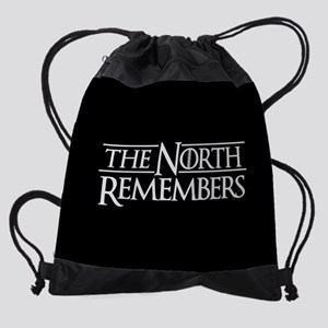 The North Remembers Game of Thrones Drawstring Bag