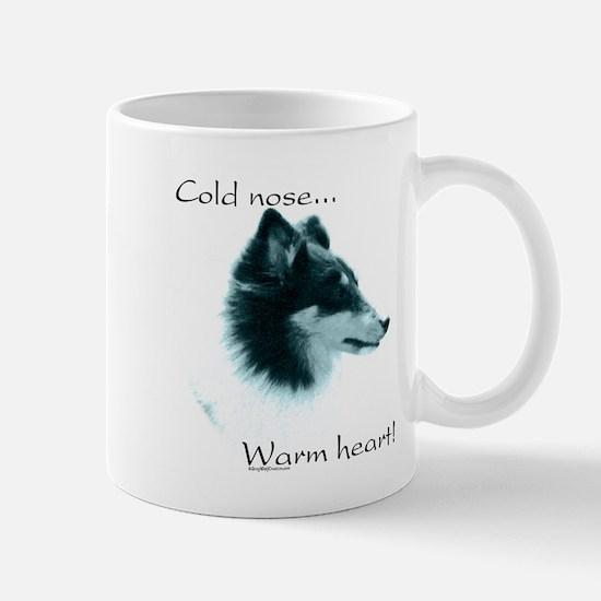 Sheltie Warm Heart Mug