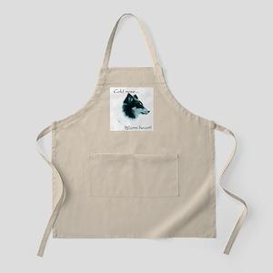 Sheltie Warm Heart BBQ Apron