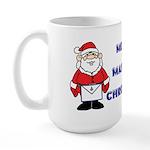 Merry Masonic Christmas Large Mug
