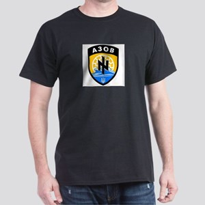 Azov A3OB Battalion Regiment Ukrainian Nat T-Shirt