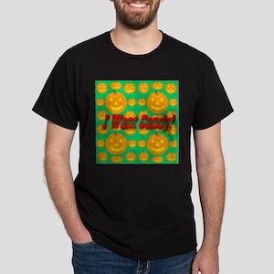 I Want Candy! Jack-o-lantern Dark T-Shirt