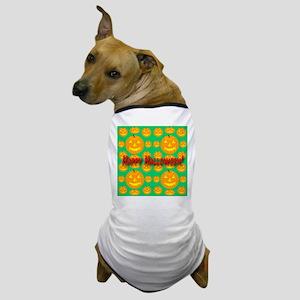 36 Happy Halloween Jack-o-lan Dog T-Shirt