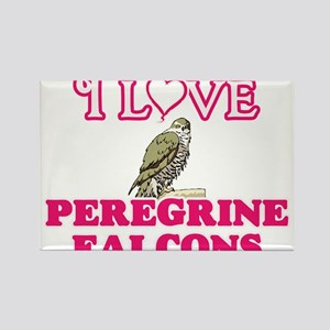 I Love Peregrine Falcons Magnets