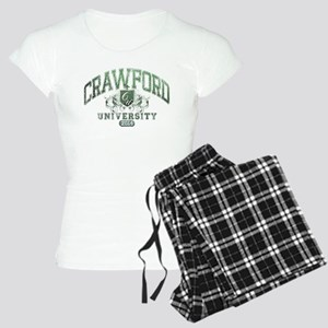 Crawford Last name University Class of 2014 Pajama