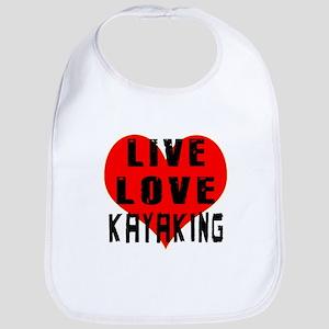 Live Love Kayaking Bib