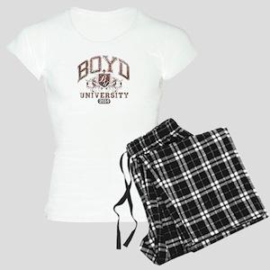 Boyd Last name University Class of 2014 Pajamas