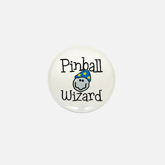 Pinball Wizard Mini Button