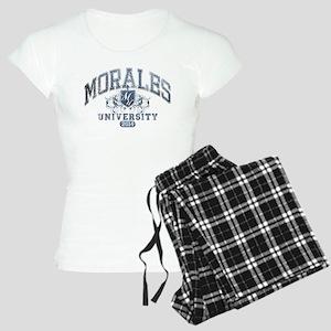 Morales Last Name University Class of 2014 Pajamas