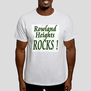 Rowland Heights Rocks ! Ash Grey T-Shirt