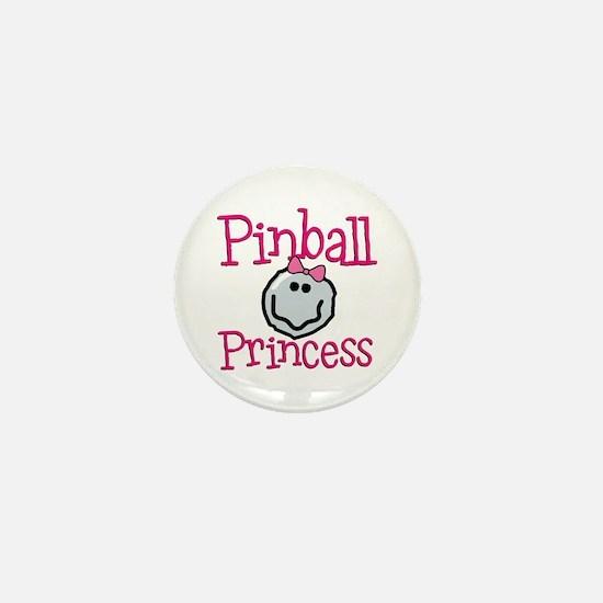 Pinball Princess Mini Button