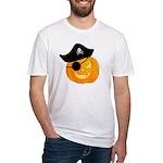 Pirate Jack o'Lantern Fitted T-Shirt