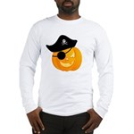 Pirate Jack o'Lantern Long Sleeve T-Shirt