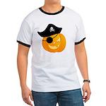 Pirate Jack o'Lantern Ringer T