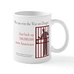 Win the War on Drugs Mug
