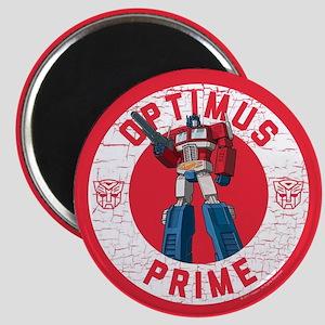 Optimus Prime Circle Magnet