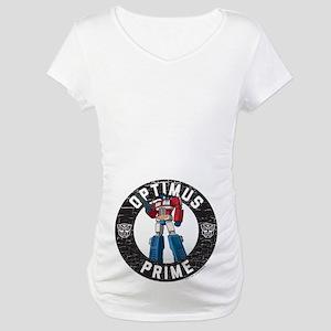 Optimus Prime Circle Maternity T-Shirt
