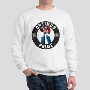 Optimus Prime Circle Sweatshirt