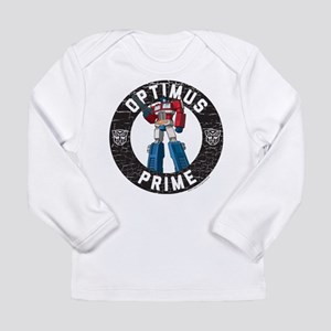 Optimus Prime Circle Long Sleeve Infant T-Shirt
